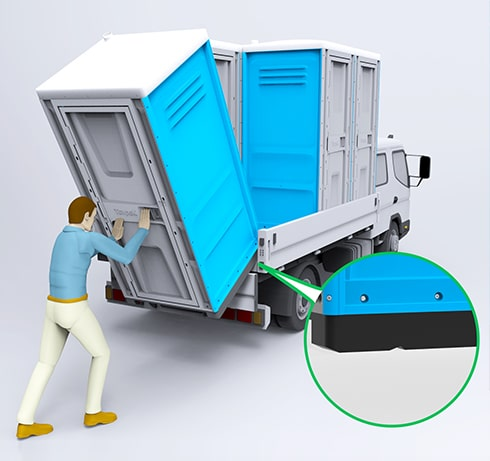 Portable Toilets Toypek - 14 easy of loading