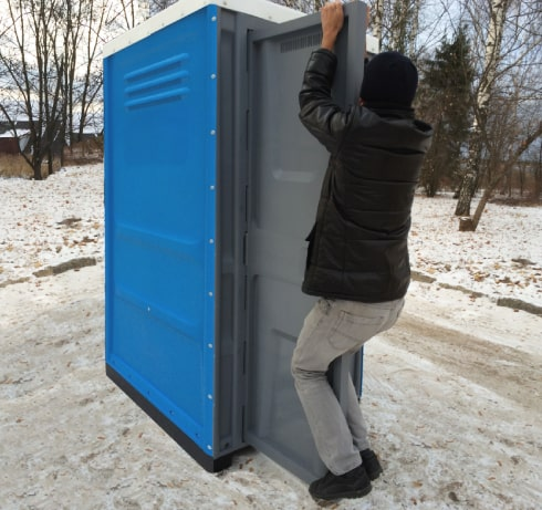 Portable Toilets Toypek - 5 anti-vandal door