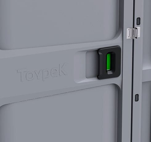 Portable Toilets Toypek - 8 locking mechanism