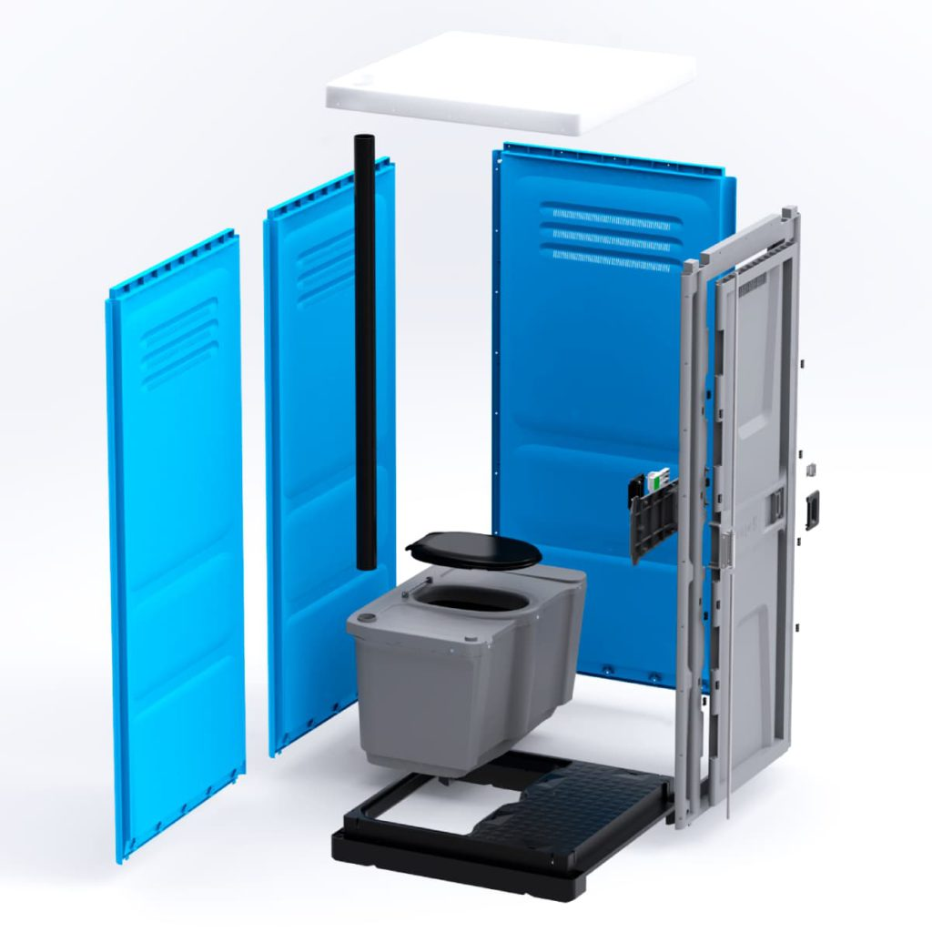 portable toilets Toypek 01C - 3